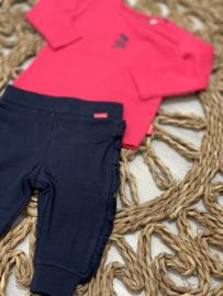 Bampidano baby | navy broekje met ruffles