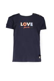 Le chic | navy tshirt love paris