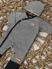 Bampidano newborn | striped pjs