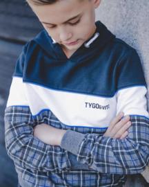 Tygo&vito | tartan hoodie