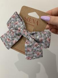 Siena | flower bow - blue
