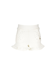 Le chic | wit shortje met strass