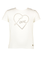 Le chic | tshirt golden strass heart
