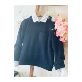 Gymp | navy knitted pull