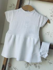 Wedoble |  white knit dress