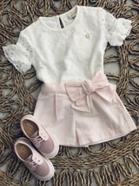 Puro mimo | pink short with bow