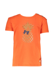 Le chic | rode tshirt met ananas