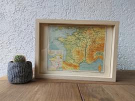 Landkaart | Frankrijk