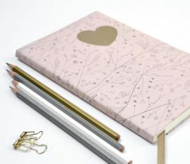 Boeken kaften met dubbelzijdig cadeaupapier