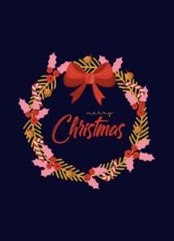 Kerstkaart   Kerstkrans