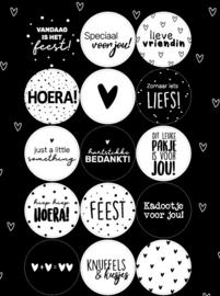 Stickervel | Kadootje | 15 stuks