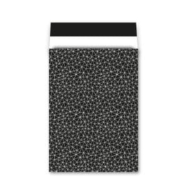 Kadozakjes XL | Grafiek zwart/wit | 5 stuks