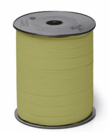 Krullint | Paperlook olijfgroen | 5 meter