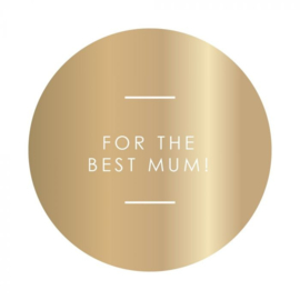 Stickers | Best mum | 5 stuks