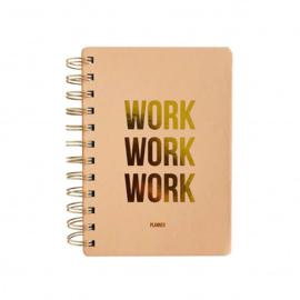 Planner | Work work work | Blush