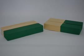 Kaartenhouder staand groen enkel