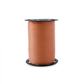 Krullint | Paperlook oranje / rood | 5 meter
