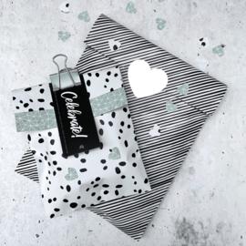 Kadozakjes M | Confetti | 5 stuks