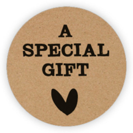 Stickers | A special gift | 10 stuks