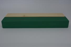 Kaartenhouder liggend groen enkel