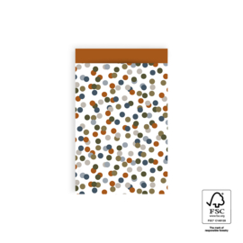 Kadozakjes M | Small confetti | 5 stuks