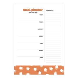 Notitieblok | mealplanner