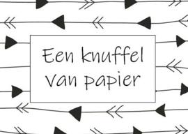 Kaart | Een knuffel van papier
