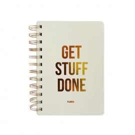 Planner | Get stuff done |  Off white