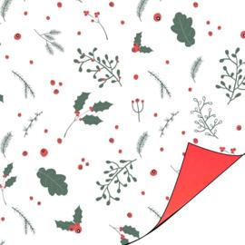 Kadopapier | Christmas blossom | 50 cm