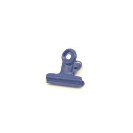 Papierklem | Blauw | 22 mm | 5 stuks