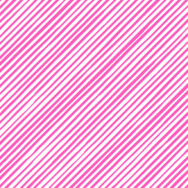 Tissuepapier | neon roze streep | 5 stuks