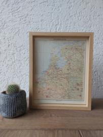 Landkaart | Nederland