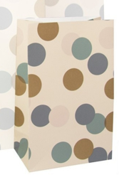 Blokbodemzak | Big confetti S | 5 stuks