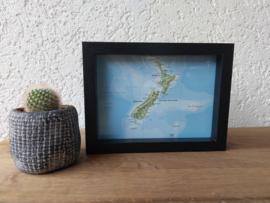 Landkaart | Nieuw - Zeeland