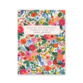 Sieradenkaart | Sisters are different flowers