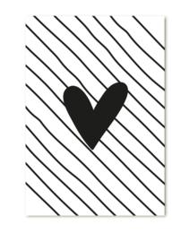Kadokaart | Streep hart