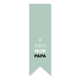Stickers | Voor mijn papa | 5 stuks