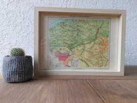 Landkaart | België en Luxemburg