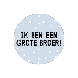 Stickers | Ik ben grote broer! | 10 stuks
