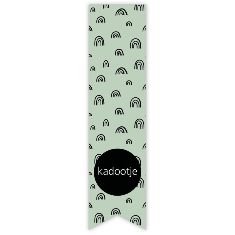 Stickers | Kadootje regenboog | 10 stuks