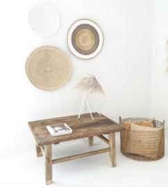 Oud  houten tafeltje 5