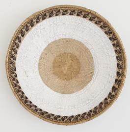 Tonga basket gold striped M