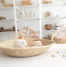 Marrokaanse flat basket
