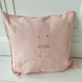 Sabra Silk kussen Pink
