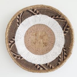 Tonga basket Gold striped S  5