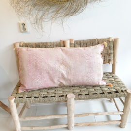 Sabra  Silk kussen XL soft pink
