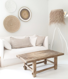 Oud  houten tafeltje 2