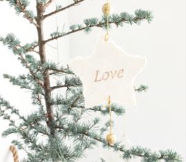 """Papieren sterren """"Love"""""""