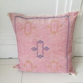 Sabra silk kussen Pink 7