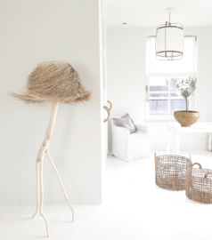 Rock the Kasbah  palmleaf staande lamp naturel